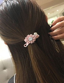 Lovely Gray Chrysanthemum Shape Decorated Hair Band