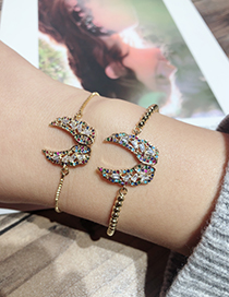 Fashion Gold Color Wing Shape Decorated Bracelet