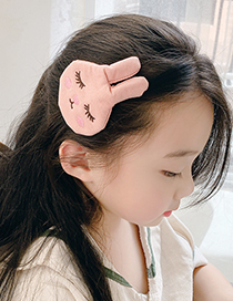 Fashion Carrot Fabric Alloy Fruit Animal Hairpin For Children
