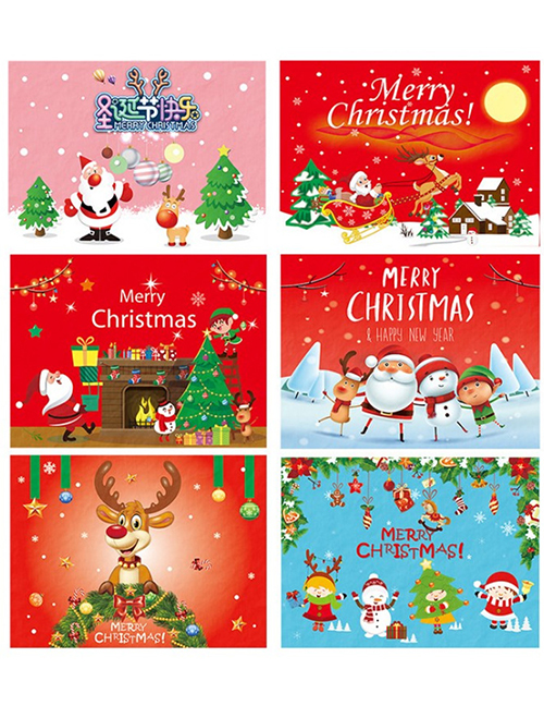 Fashion Little Girl Elk Letter Hanging Flag Christmas Decoration Scene Layout Poster