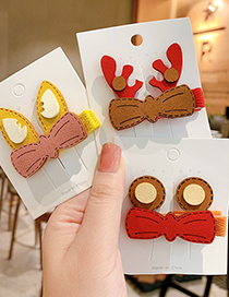 Fashion Little Frog Animal Ears Color Frosted Children Hairpin