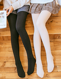 Fashion 100 Grams Of Skin Tone (without Velvet) Plus Velvet Thickening Bottoming Pantyhose