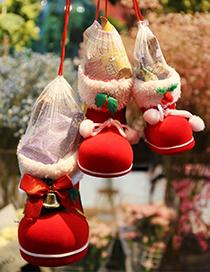 Fashion Small (in Stock) Christmas Boots Candy Box Bag Christmas Socks