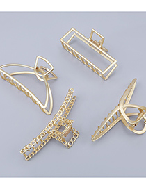 Fashion Sector Alloy Cross-hollow Geometry Gripper