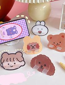 Fashion Cute Little Bear Dormitory Home Mini Lazy Desktop Phone Holder