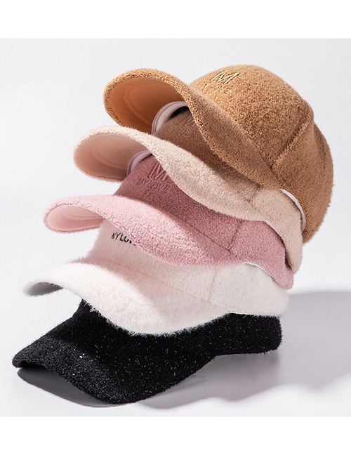 Fashion Pink Letter Embroidered Baseball Cap