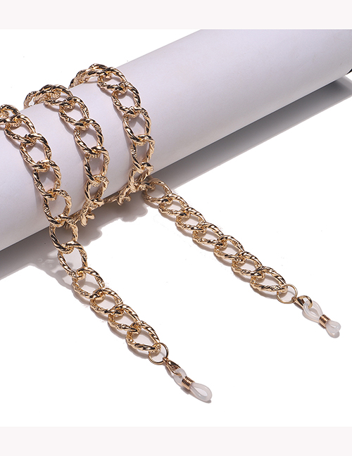 Fashion Gold Color Metal Color-preserving Threaded Chain Glasses Chain