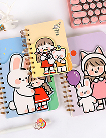 Fashion Purple One Date 145*210mm Printed Coil Portable Notepad