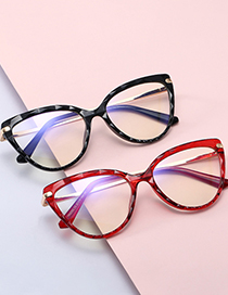 Fashion C6 Through Powder/anti-blue Light Tr90 Spring Cut Edge Anti-blue Light Can Be Equipped With Myopia Flat Lens