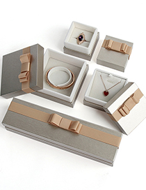 Fashion Blue Bracelet Box Bow Tie Heaven And Earth Cover Packaging Box