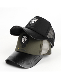 Fashion Army Green Mesh Baseball Cap