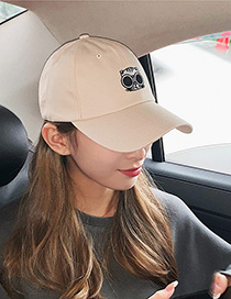Fashion Brown Soft Top Sun Visor Baseball Cap