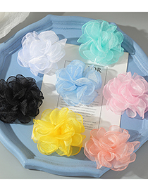Fashion White Color Flower Hairpin