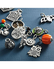 Fashion Ghost Stainless Steel Animal Pendant