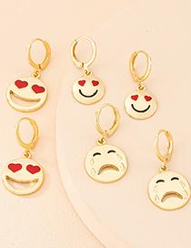 Fashion Cry Emoji Earrings
