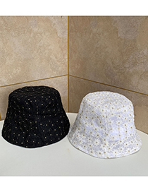 Fashion White Flower Embroidered Lace Sunhat