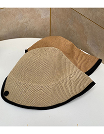 Fashion Beige Sun Protection Fisherman Hat