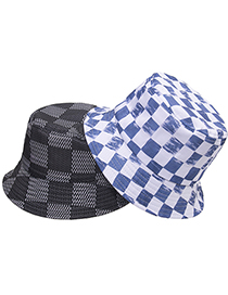 Fashion 4 Plaid Print Fisherman Hat