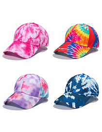 Fashion F Shade Tie-dye Baseball Cap