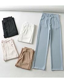 Pantalón De Color Liso