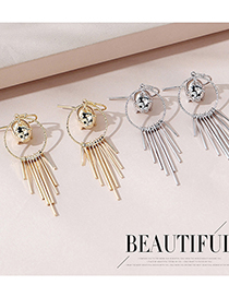 Fashion Platinum Real Gold Plated Little Lucky Pig Earrings