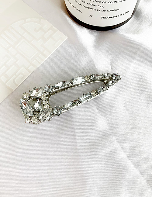 Fashion Small Alloy-studded Duckbill Hair Clip