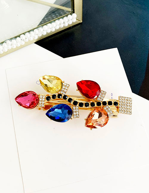 Fashion Color Alloy Hairpin Hairpin