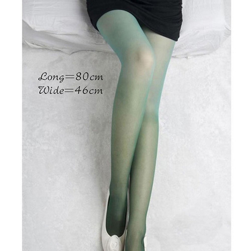 Lovely Purple Gradual Change Color Simple Silk Stockings