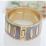 Maternity Multicolor Punk Circle Design Alloy Fashion Bangles