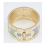 Highwaist Multicolor Blink Matching Design Alloy Fashion Bangles