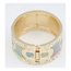 Colorful Silver Color Blink Matching Design Alloy Fashion Bangles