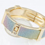 Memorial Gold Color Elegant Exquisite Design Alloy Fashion Bangles