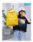 Fashion Yellow Backpack Four-piece Suit