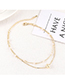 Fashion Platinum Gold Plated Bracelet - Starry