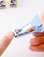 Fashion Multi-color Duck Shape Decorated Nail Clippers (1pc Randomly)