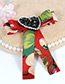 Fashion White Heart Shape Decorated Bowknot Brooch