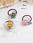 Lovely Green+red Flower Shape Decorated Child Hair Band(1pc)