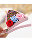 Lovely Multi-color Flowers Decorated Child Hair Clip(1pairs)