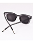 Fashion Gray Resin Sunglasses