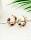 Fashion Color Alloy Acrylic Earrings