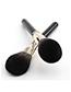 Fashion Black 12-studded-wool Makeup Brush-carton Packaging