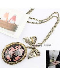 Electric Bronze Magic Bow Alloy Chains
