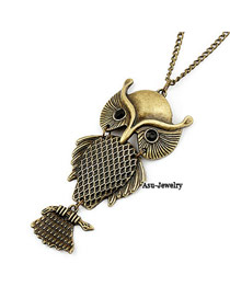 Stainless Bronze Owl Alloy Chains