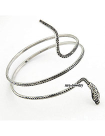 Korean classic retro fashion snake personality charm design bandle
