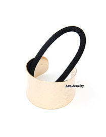 Wishbone Gold Color Semi-Circle Shape Alloy Hair band hair hoop