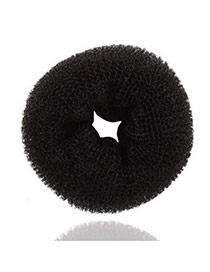 Pearl Black Bud Head Hairdisk Velvet Hair band hair hoop