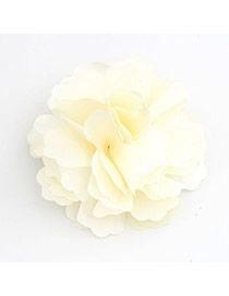 Floral light Yellow Flower Design