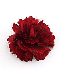 Unique Red Flower Design