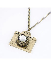 Quicksilve Bronze Camera Shape  Pendant