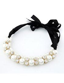 Deathly White Handmade Pearl